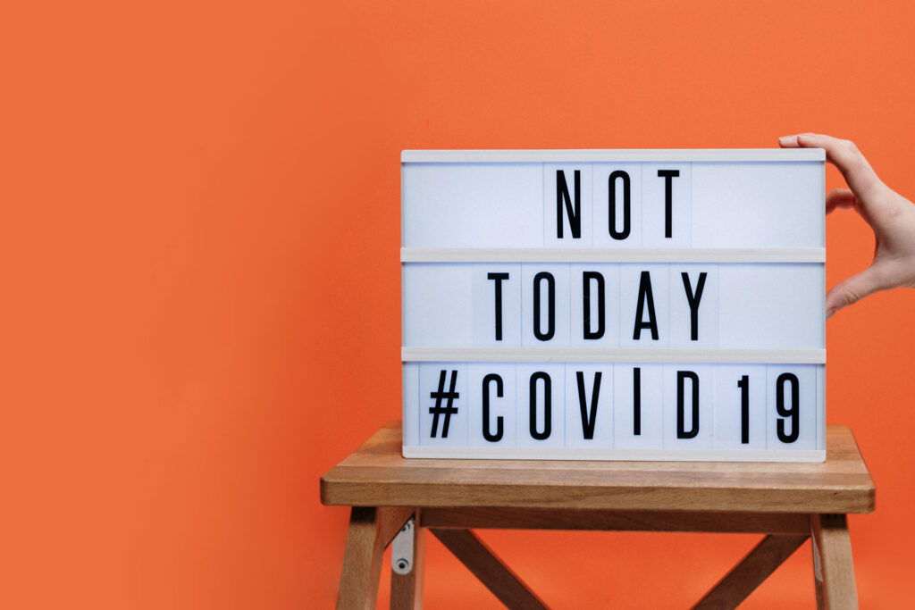 """Featured image for """"Not Today Covid-19"""""""